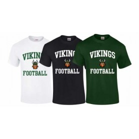 Edge Hill Vikings - Football Logo T-Shirt