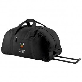 Edge Hill Vikings - Embroidered Wheelie Holdall