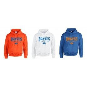 Derby Braves - Custom Ball Logo Hoodie 2