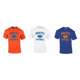 Derby Braves - Custom Ball Logo T-Shirt 1