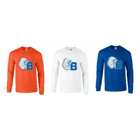 Derby Braves - Full Logo Long Sleeve T-Shirt