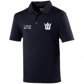 Worcester Royals - Embroidered Performance Polo