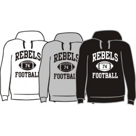 Dublin Rebels - Custom Ball Logo Hoodie 1