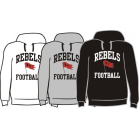 Dublin Rebels - Football Logo Hoodie
