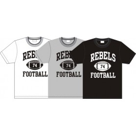 Dublin Rebels - Custom Ball Logo T-Shirt 1