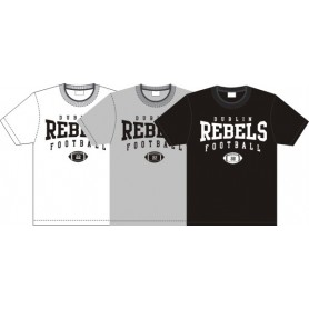 Dublin Rebels - Custom Ball Logo T-Shirt 2
