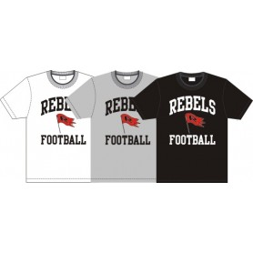 Dublin Rebels - Football Logo T-Shirt