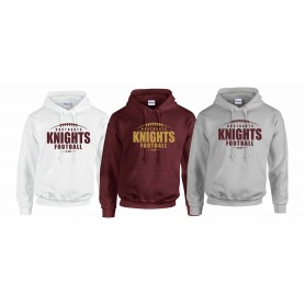 Northants Knights - Laces Logo Hoodie