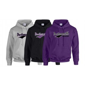 Portsmouth Destroyers - Script Text Hoodie