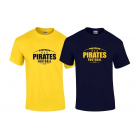 UEA Pirates - Laces Logo T-Shirt