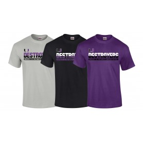 Portsmouth Destroyers - Athletic Split Text T Shirt