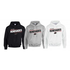South London Renegades - Slanted Text Logo Hoodie