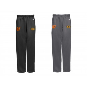 Gateshead Senators - Embroidered Badger Open Bottom Joggers