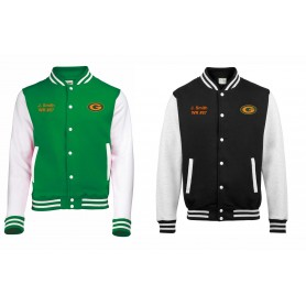 Gateshead Senators - Custom Embroidered Varsity Jacket