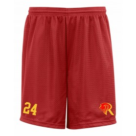 Kings College - Embroidered Mesh Shorts
