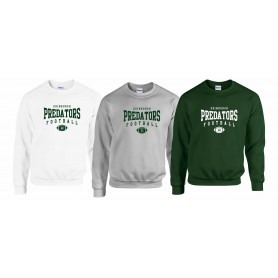 Edinburgh Predators - Custom Ball Logo Sweatshirt