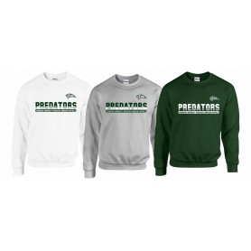 Edinburgh Predators - Athletic Split Text Logo Sweatshirt