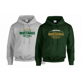 Doncaster Mustangs - Laces Logo Hoodie