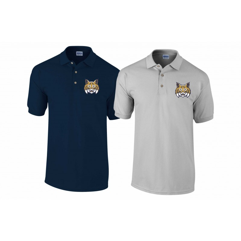 Leeds Bobcats - Custom Embroidered Polo Shirt Shirt