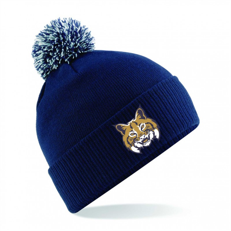 Leeds Bobcats - Embroidered Bobble Hat