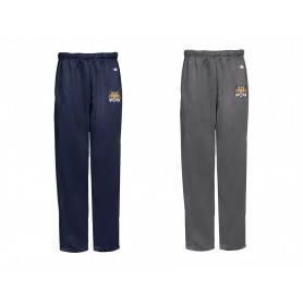 Leeds Bobcats - Embroidered Badger Open Bottom Joggers