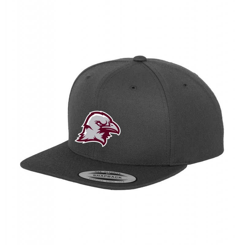 Manchester Crows Embroidered Snapback Cap My Custom Teamwear