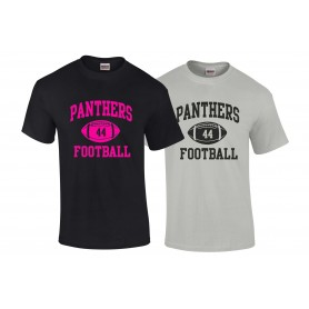 Oxford Brookes Panthers - Custom Ball Logo T-Shirt