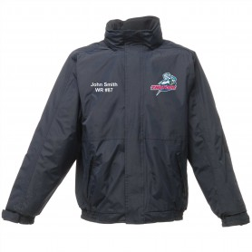 Sussex Thunder - Custom Embroidered Heavyweight Dover Rain Jacket