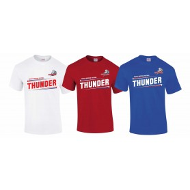 Sussex Thunder - Slanted Text Logo T-Shirt