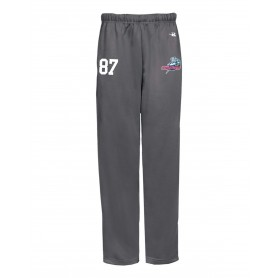 Sussex Thunder - Badger Embroidered Open Bottom Pants