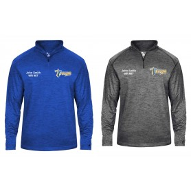Manchester Titans - Embroidered Tonal Blend Sport 1/4 Zip