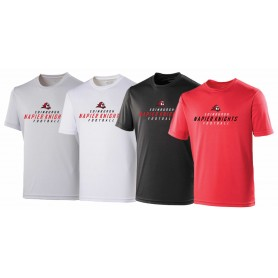 Edinburgh Napier Knights - Performance Text Logo T-Shirt