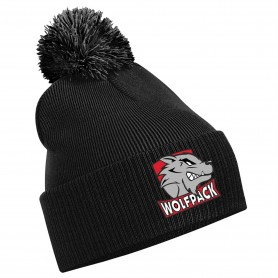 City Wolfpack - Embroidered Bobble Hat