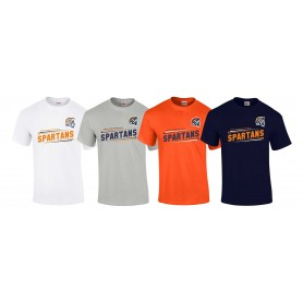 Sunderland Spartans - Slanted Text Logo T-Shirt