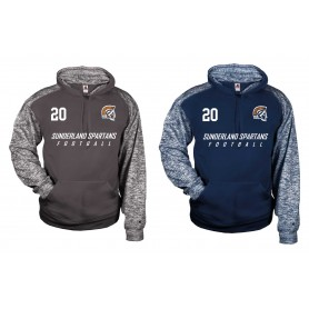 Sunderland Spartans - Sports Blend Text Logo Hoodie