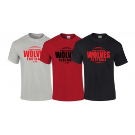 Warwick Wolves - Laces Logo T-Shirt