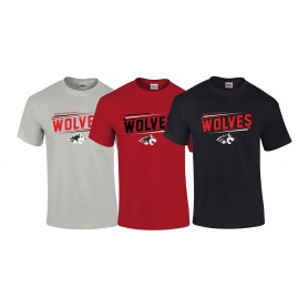 Warwick Wolves - Slanted Text T-Shirt
