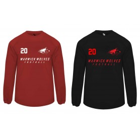 Warwick Wolves - Printed Poly Fleece Pullover
