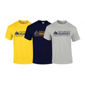 Portsmouth Dreadnoughts - Text Logo 2 T Shirt