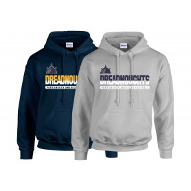 Portsmouth Dreadnoughts - Athletic Split Text Hoodie