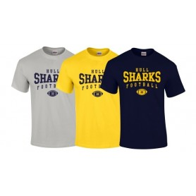 UH Sharks - Custom Ball Logo T-Shirt 2
