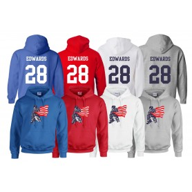 DC Presidents - Full Logo and Number Hoodie