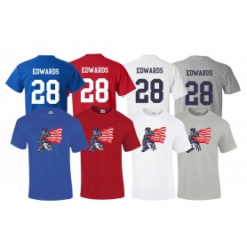 DC Presidents - Full Logo and Number T-Shirt