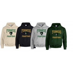 Furness Phantoms - Football Logo Hoodie
