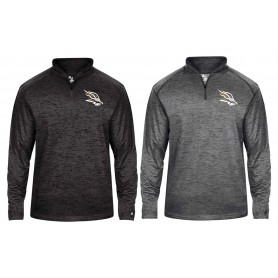Clyde Valley Blackhawks - Embroidered Tonal Blend Sport 1/4 Zip