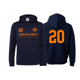 Craigavon Cowboys - Printed Performance Hoodie