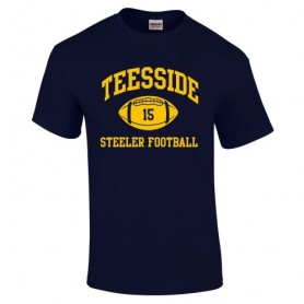 Teeside Steelers - Custom Ball Logo T-Shirt 1