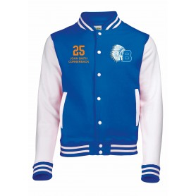 Derby Braves - Embroidered Varsity Jacket