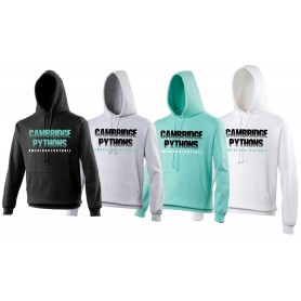 Cambridge Pythons - Cambridge Pythons Text Hoodie