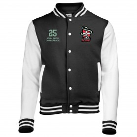 Cambridge Pythons - Embroidered Varsity Jacket